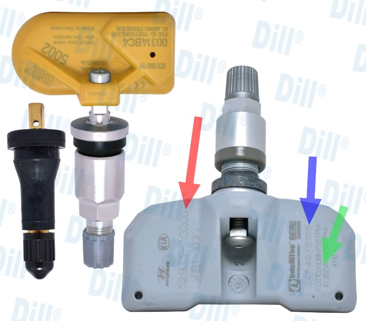 Dill Air Controls Products 187 Tpms Lookup